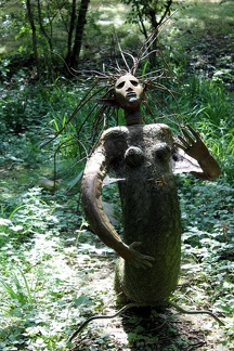 Sculpture de Michel Lecoeur (Rives d'arcins, Tartifume)